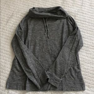 Gray Pullover style top